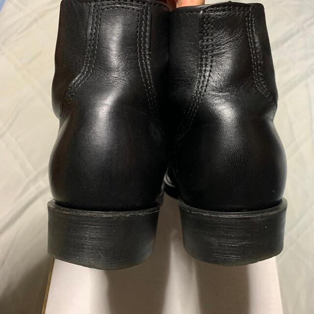 REDWING(レッドウィング)のUS SERVICE ワークブーツ Black US8 メンズの靴/シューズ(ブーツ)の商品写真