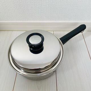 アムウェイ(Amway)の◇◆新品未使用◆◇ アムウェイ クイーン 中ソースパン 匿名配送 Amway鍋(鍋/フライパン)