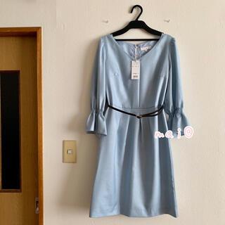 PROPORTION BODY DRESSING - 新品タグ付き プロポ キャンディスリーブ ワンピース ブルー