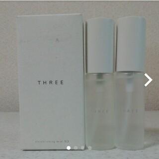 スリー(THREE)の新品☆THREE コンディショニング ミスト SQ 2種セット 28mL×2本(化粧水/ローション)