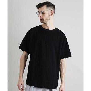 ステュディオス(STUDIOUS)のジャカード ショートスリーブ カットソー(Tシャツ/カットソー(半袖/袖なし))