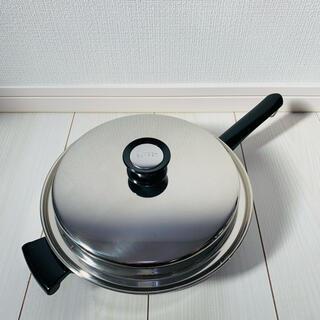 アムウェイ(Amway)の◇◆新品未使用◆◇ アムウェイクイーン『大フライパン』匿名配送 Amway 鍋(鍋/フライパン)