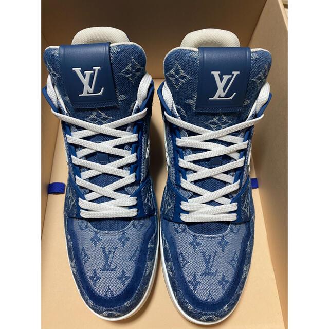 LOUIS VUITTON(ルイヴィトン)のLOUIS VUITTON ルイヴィトン LVトレイナー・ライン スニーカー メンズの靴/シューズ(スニーカー)の商品写真