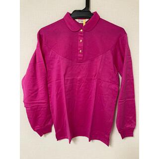 ジバンシィ(GIVENCHY)のGIVENCHY レディース 長袖ポロシャツ ピンク L(ポロシャツ)