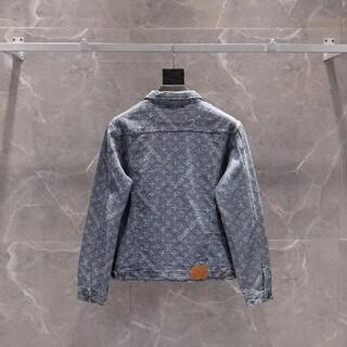 LV supreme Denim jacket blue