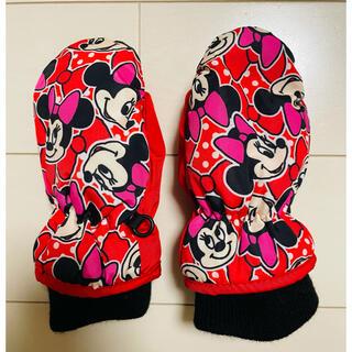ディズニー(Disney)のスノー手袋 キッズ 女の子 ミニーちゃん 1歳-2歳(手袋)