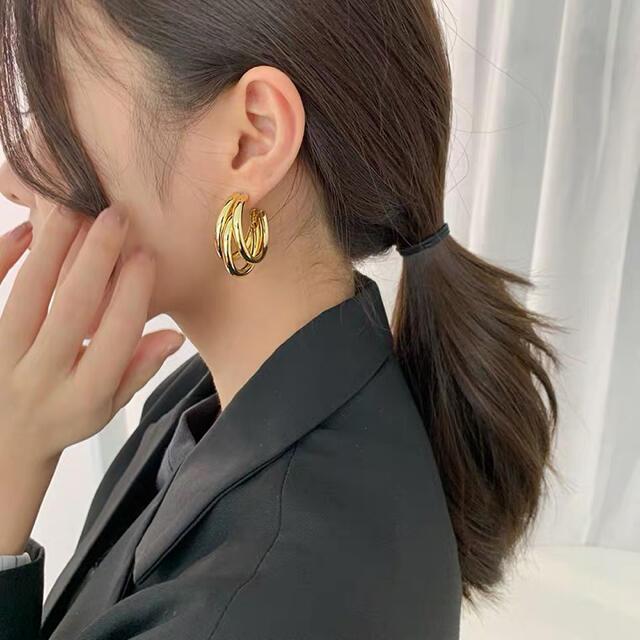 ZARA(ザラ)のhoop  pierce ♡ レディースのアクセサリー(ピアス)の商品写真