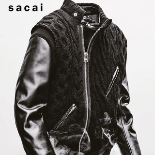 UNDERCOVER -  UNDERCOVER 30th Leather jacket×sacai