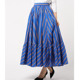 UNITED ARROWS - 【美品】ユナイテッドアローズ  ストライプスカート