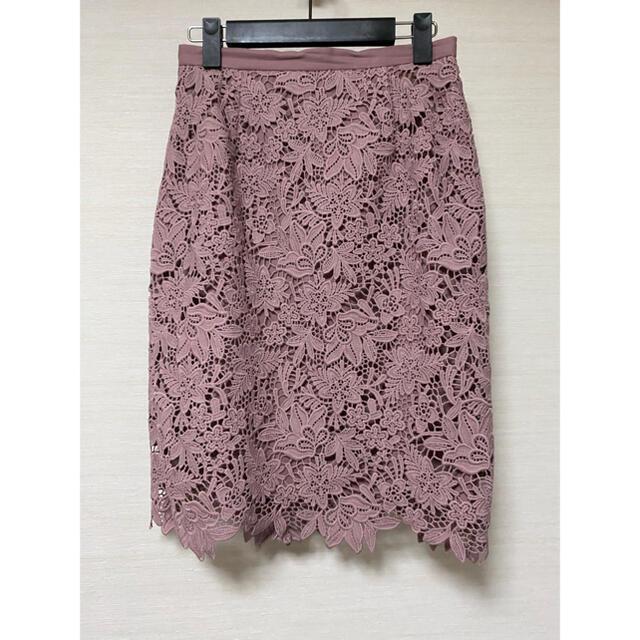 JUSGLITTY(ジャスグリッティー)のJUSGLITTY♡レースタイトスカート レディースのスカート(ひざ丈スカート)の商品写真