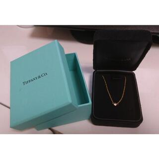 Tiffany & Co. - ティファニー ダイヤモンド バイザヤード ネックレス 0.12ct 箱有