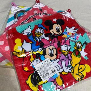 ディズニー(Disney)のループタオル(3枚:1枚も可能(タオル/バス用品)