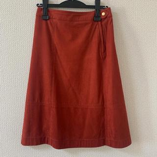 オペークドットクリップ(OPAQUE.CLIP)のAラインスカート(ひざ丈スカート)
