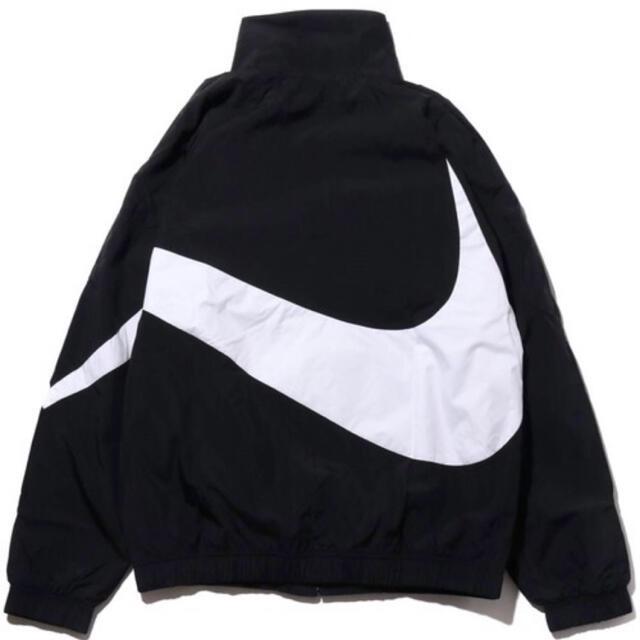 NIKE(ナイキ)のNIKEWovenJacketBigSwooshボアジャケットビッグスウォッシュ メンズのジャケット/アウター(ナイロンジャケット)の商品写真