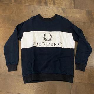 フレッドペリー(FRED PERRY)のフレッドペリー トレーナー メンズSサイズ レディースも可能(パーカー)