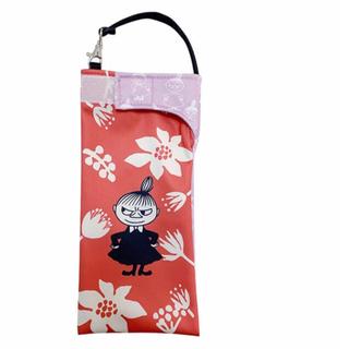 リトルミー(Little Me)の防水ポーチ 防水袋 ペットボトルケース 折り畳み傘ケース ムーミン リトルミー(日用品/生活雑貨)