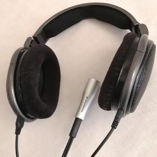 ゼンハイザー(SENNHEISER)のゼンハイザー HD650 GE DMaa+純正バランスケーブル CH650S(ヘッドフォン/イヤフォン)