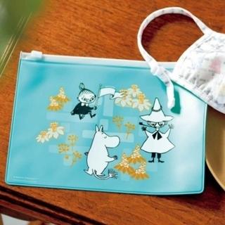 宝島社 - ムーミン Moomin 新品 スライダーポーチ マスクケース