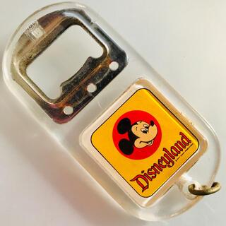 ミッキーマウス(ミッキーマウス)の昭和レトロ ミッキーミニーマウス 栓抜き 東京ディズニーランドで購入 (キャラクターグッズ)