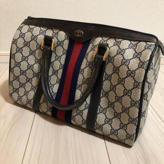 Gucci - 【美品】レア!オールドグッチ シェーリーラインのミニボストンバッグ
