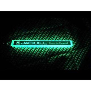 ジャッカル(JACKALL)の新品 ジャッカル フィッシングショー限定 蓄光キーホルダー 釣りフェスタ(その他)