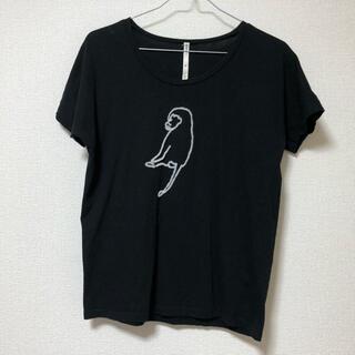 アトリエドゥサボン(l'atelier du savon)の*さるのTシャツ(Tシャツ(半袖/袖なし))