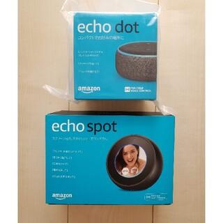 エコー(ECHO)のAmazon Echo Spot&Dotセット(スピーカー)