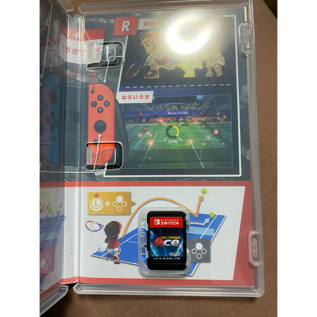 Nintendo Switch(ニンテンドースイッチ)のマリオテニス Switch エンタメ/ホビーのゲームソフト/ゲーム機本体(家庭用ゲームソフト)の商品写真