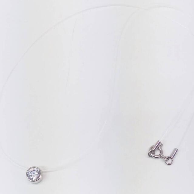 Vendome Aoyama(ヴァンドームアオヤマ)のk18 WG♡コードネックレス♡ジルコニア♡ヴァンドーム アオヤマ♡ レディースのアクセサリー(ネックレス)の商品写真