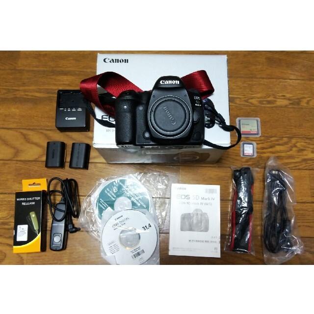 Canon(キヤノン)のCANON EOS 5D Mark Ⅳ スマホ/家電/カメラのカメラ(デジタル一眼)の商品写真