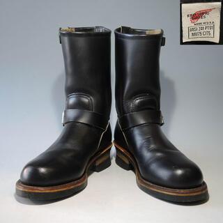 REDWING - PT91刺繍羽タグ2268エンジニアブーツ黒ブラック9268 2966 PT83