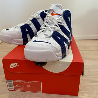 ナイキ(NIKE)のNike air more uptempo 96 deep royal 28cm(スニーカー)