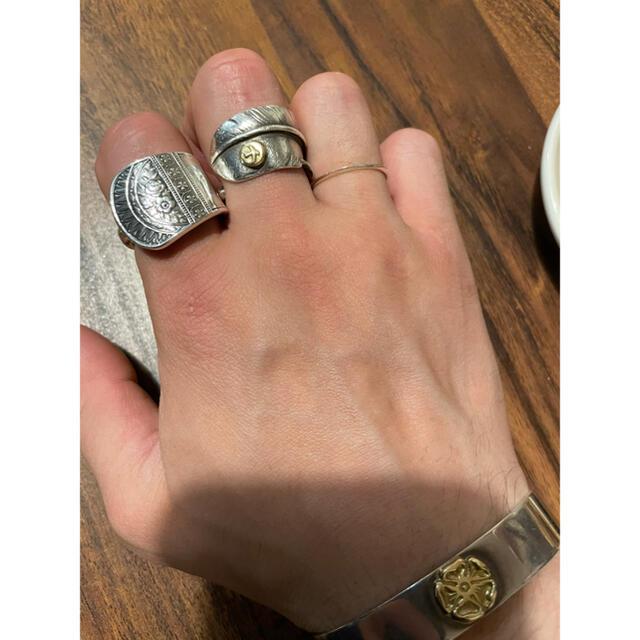 goro's(ゴローズ)のシルバーリング メンズのアクセサリー(リング(指輪))の商品写真