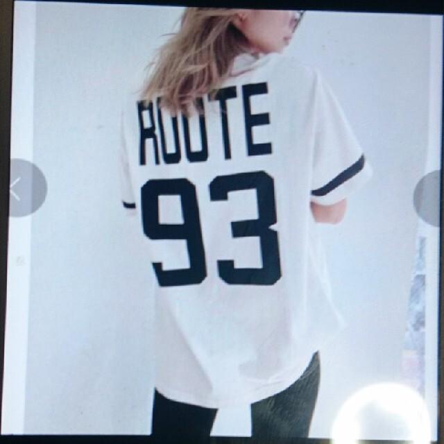 GYDA(ジェイダ)のジェイダ number93Tシャツ レディースのトップス(Tシャツ(半袖/袖なし))の商品写真