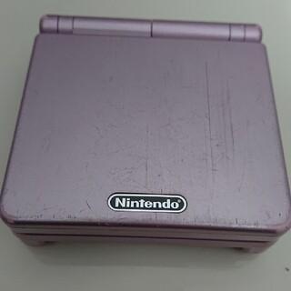 ゲームボーイアドバンス(ゲームボーイアドバンス)のゲームボーイアドバンスSP ピンク(携帯用ゲーム機本体)