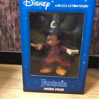 ミッキーマウス(ミッキーマウス)のミラクルアクションフィギュア-90 MAF DX ミッキーマウス(ファンタジア…(キャラクターグッズ)