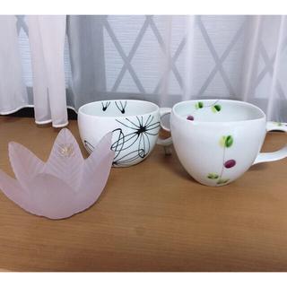 スープカップ 飾り皿(食器)