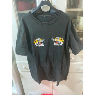 トウヨウエンタープライズ(東洋エンタープライズ)の古着 Tシャツ スカジャン風(Tシャツ/カットソー(半袖/袖なし))