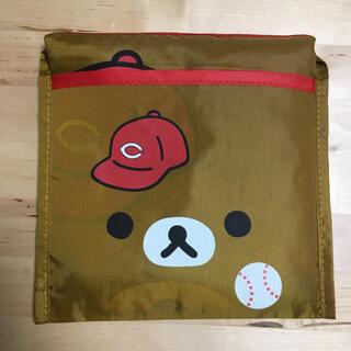 広島東洋カープ × リラックマ エコバッグ プロ野球12球団  折りたたみ