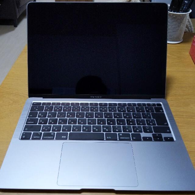 Apple(アップル)のMacBook Air 2020 Core i5 512GB メモリ8GB スマホ/家電/カメラのPC/タブレット(ノートPC)の商品写真