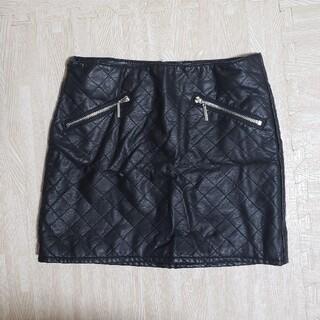 エイチアンドエム(H&M)のH&M レザースカート(ミニスカート)