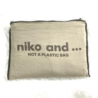 ニコアンド(niko and...)のニコアンド マルシェトートバッグ(エコバッグ)