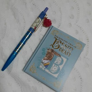 Disney - 美女と野獣 野獣 ボールペン&メモ帳セット