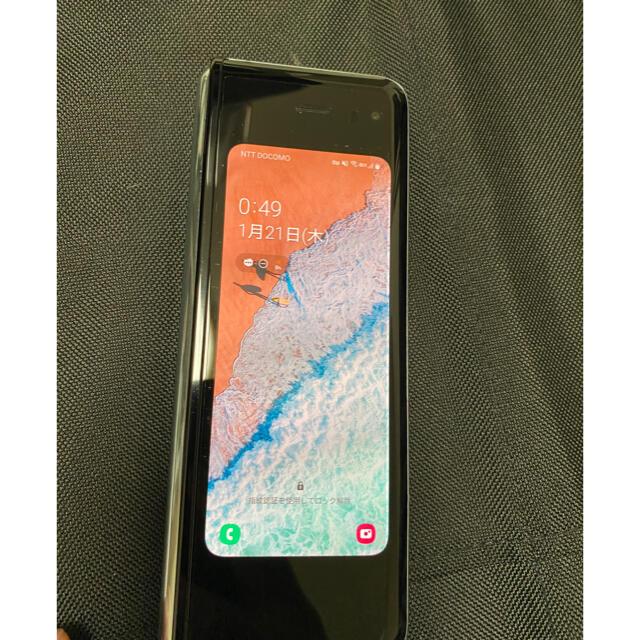 SAMSUNG(サムスン)のSamsung Galaxy Fold 5G スマホ/家電/カメラのスマートフォン/携帯電話(スマートフォン本体)の商品写真