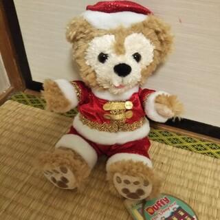 ダッフィー(ダッフィー)のタグつき  ダッフィー  2009  クリスマス  シェリーメイ(ぬいぐるみ)