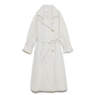 snidel - 今季完売 定価4万SNIDEL トレンチ中綿コート アイボリー ホワイト
