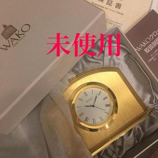 セイコー(SEIKO)の和光 置き時計(置時計)