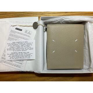 Maison Martin Margiela - 【新品未使用】メゾンマルジェラ 二つ折り財布 ベージュ
