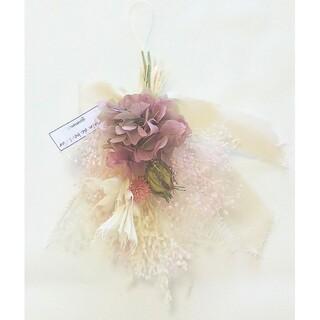 spring color mini swag(European pink)(ドライフラワー)