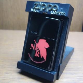 ジッポー(ZIPPO)の新世紀エヴァンゲリオン NERV zippo ブラック(その他)